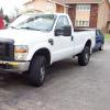 2008 F350 Super Duty 4x4 5,4v8 runs great 60k miles 15990.00