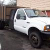 Ford F450 14ft Stake body DUMP! 7.3 powerstroke runs great ready to work! 10900.00