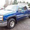 2003  Silverado 1500HD CREW CAB 4X4 6.0 v8 Super Clean runs new 10990.00
